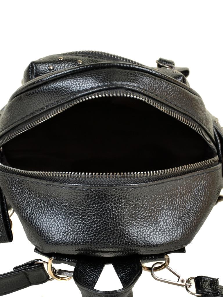 Рюкзак Городской иск-кожа ALEX RAI 2-05 1702-0 black - фото 5