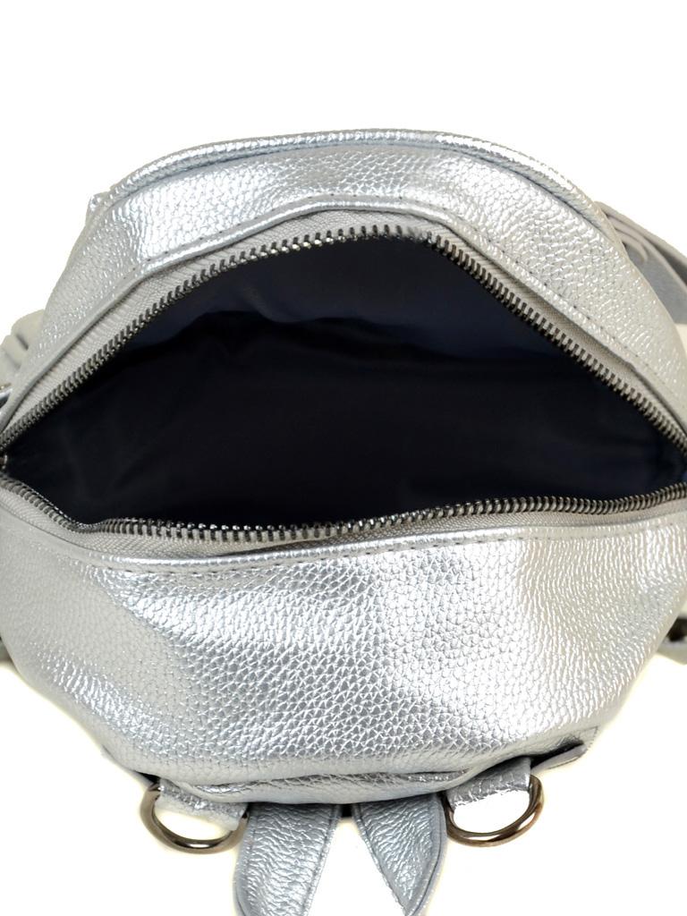 Рюкзак Городской иск-кожа ALEX RAI 2-05 1702-0 silver