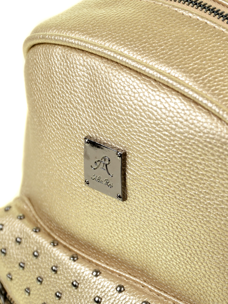 Рюкзак Городской иск-кожа ALEX RAI 2-05 1702-2 gold