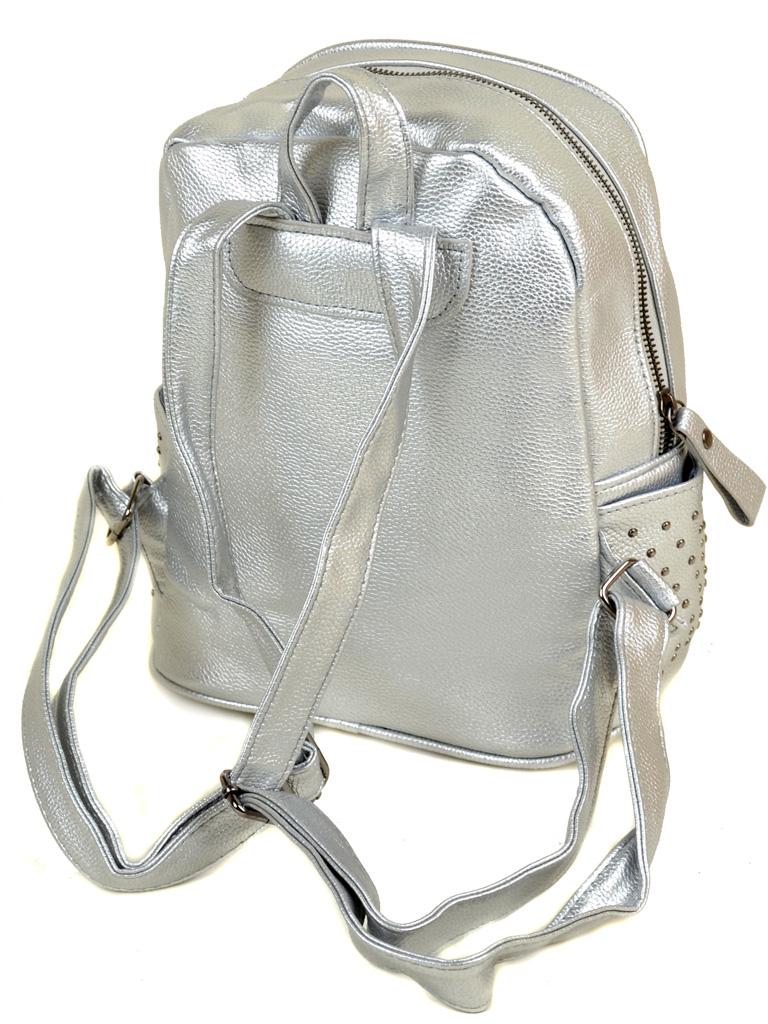 Рюкзак Городской иск-кожа ALEX RAI 2-05 1702-2 silver