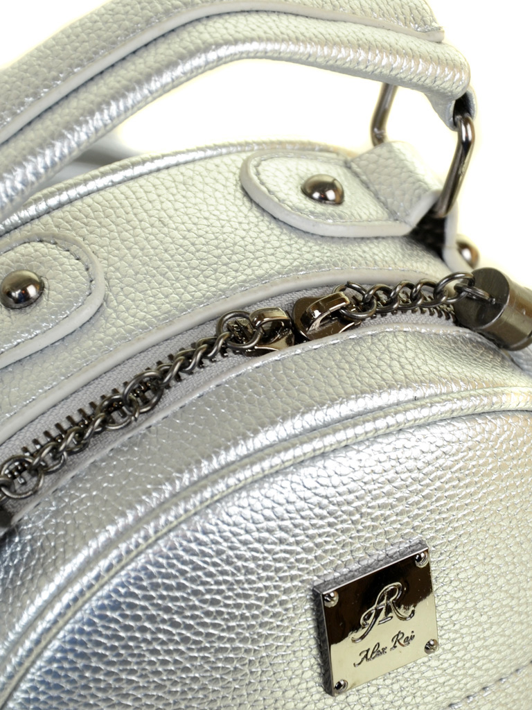 Рюкзак Городской иск-кожа ALEX RAI 2-05 1705-0 silver