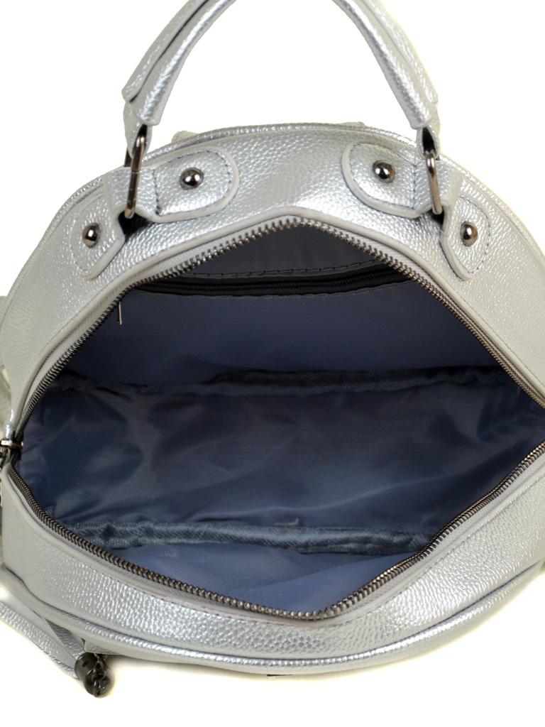 Рюкзак Городской иск-кожа ALEX RAI 2-05 1705-1 silver