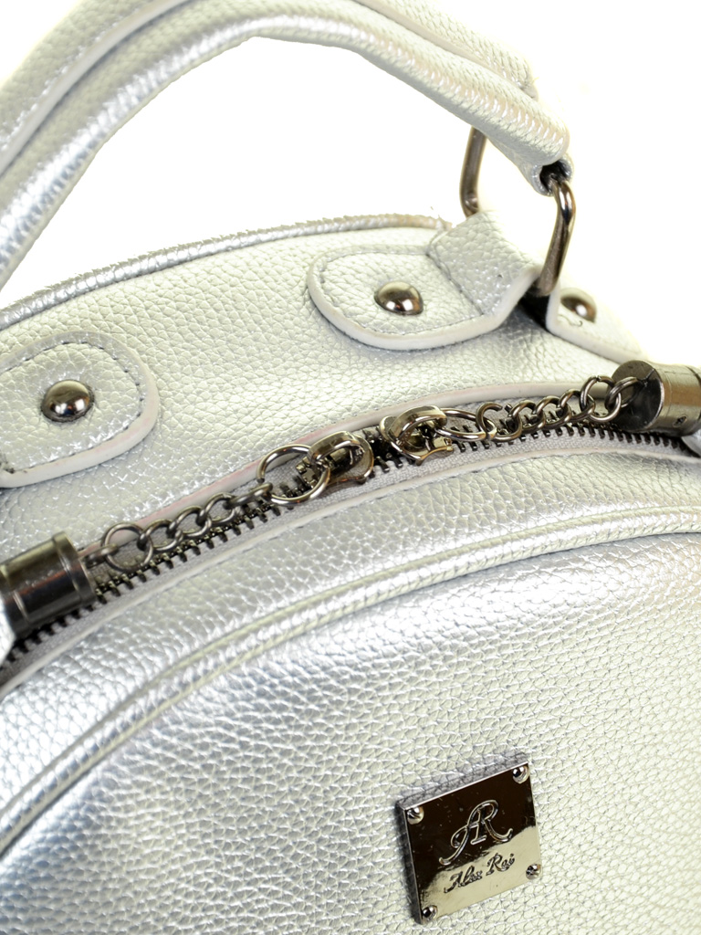 Рюкзак Городской иск-кожа ALEX RAI 2-05 1705-2 silver