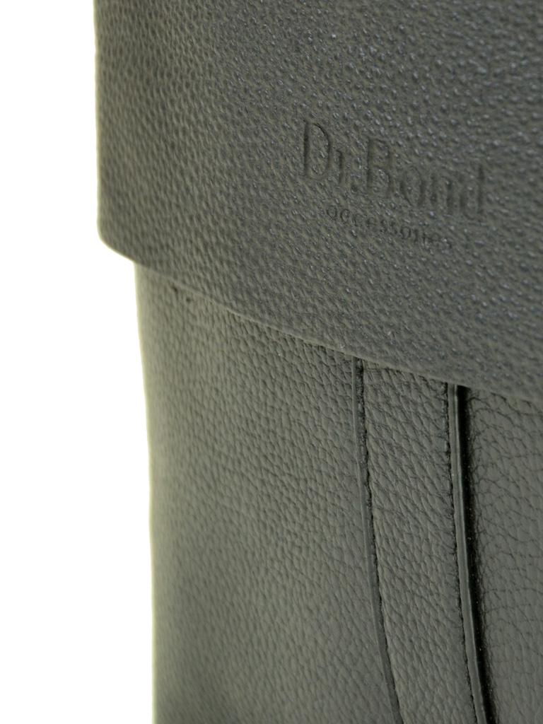 Сумка Мужская Планшет иск-кожа DR. BOND 202-3 black - фото 3