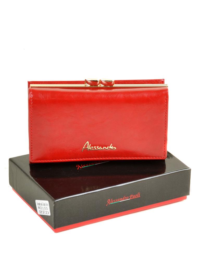 Кошелек Canarie кожа ALESSANDRO PAOLI W2155 red