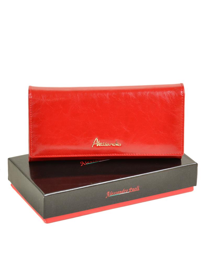Кошелек Canarie кожа ALESSANDRO PAOLI W501 red