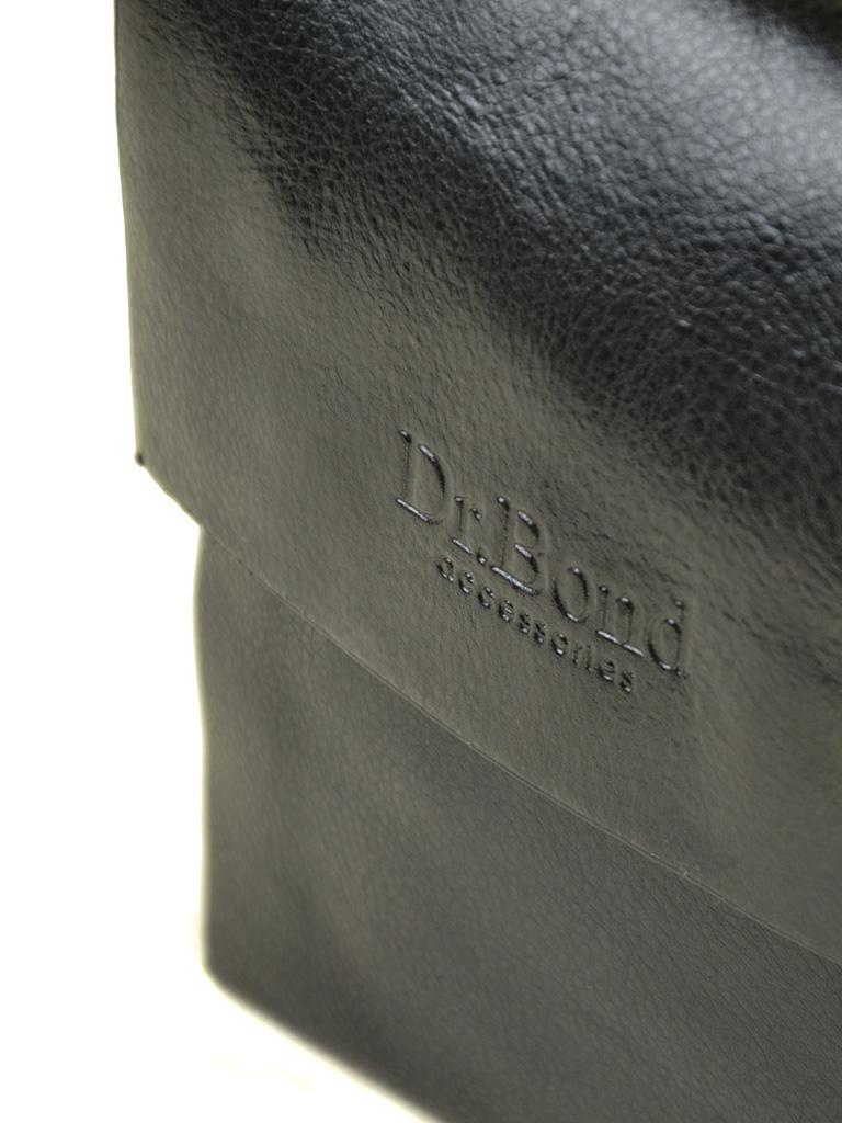 Сумка Мужская Планшет иск-кожа DR. BOND 302-0 black