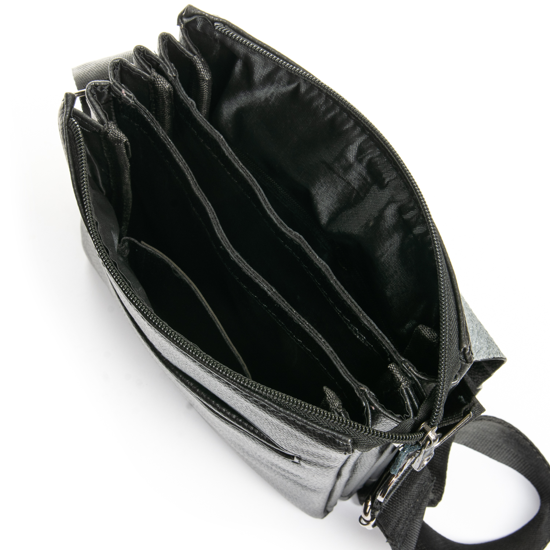 Сумка Мужская Планшет иск-кожа DR. BOND 308-3 black - фото 4