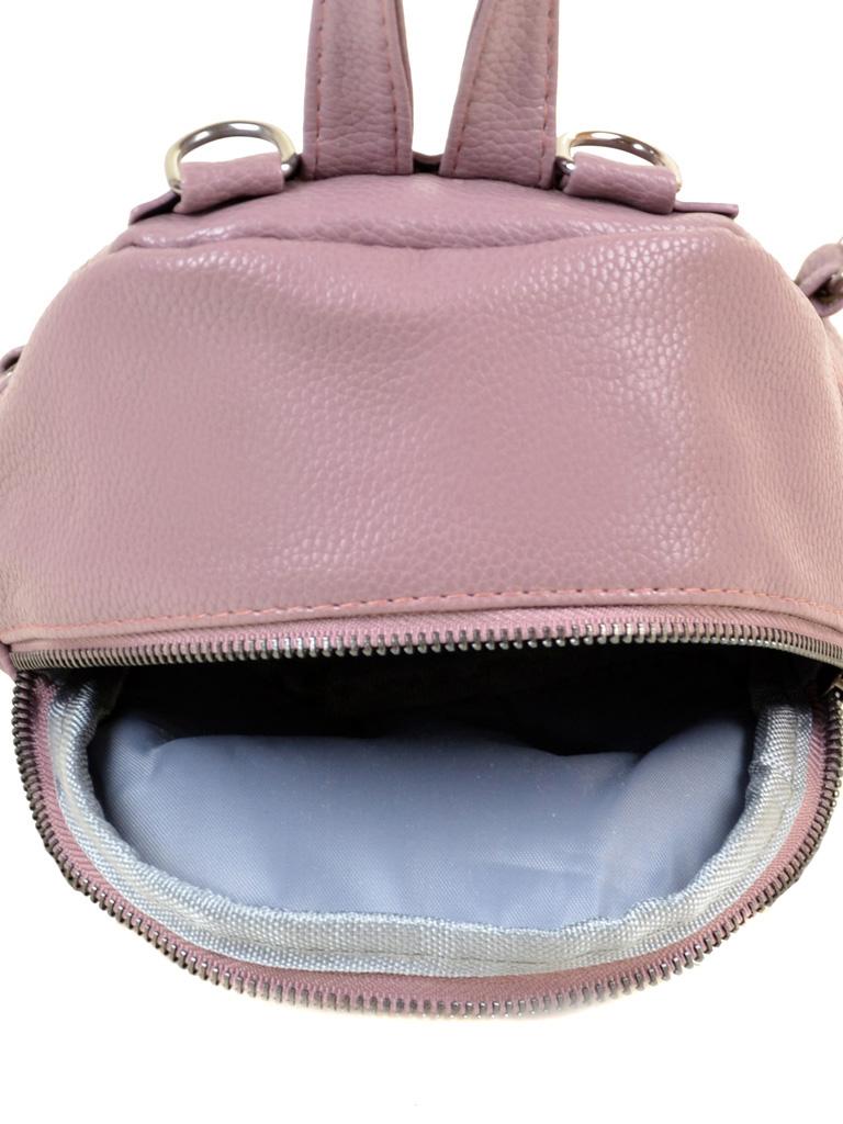 Сумка Женская Рюкзак иск-кожа ALEX RAI 2-05 1703-0 pink - фото 5