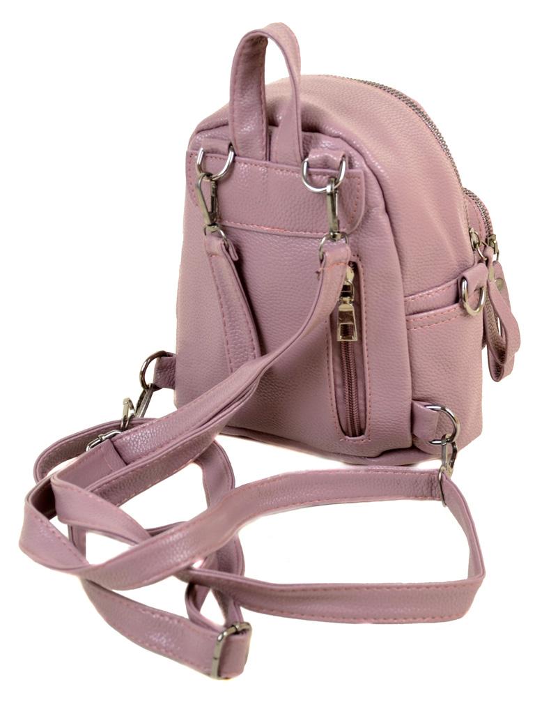 Сумка Женская Рюкзак иск-кожа ALEX RAI 2-05 1703-0 pink - фото 4