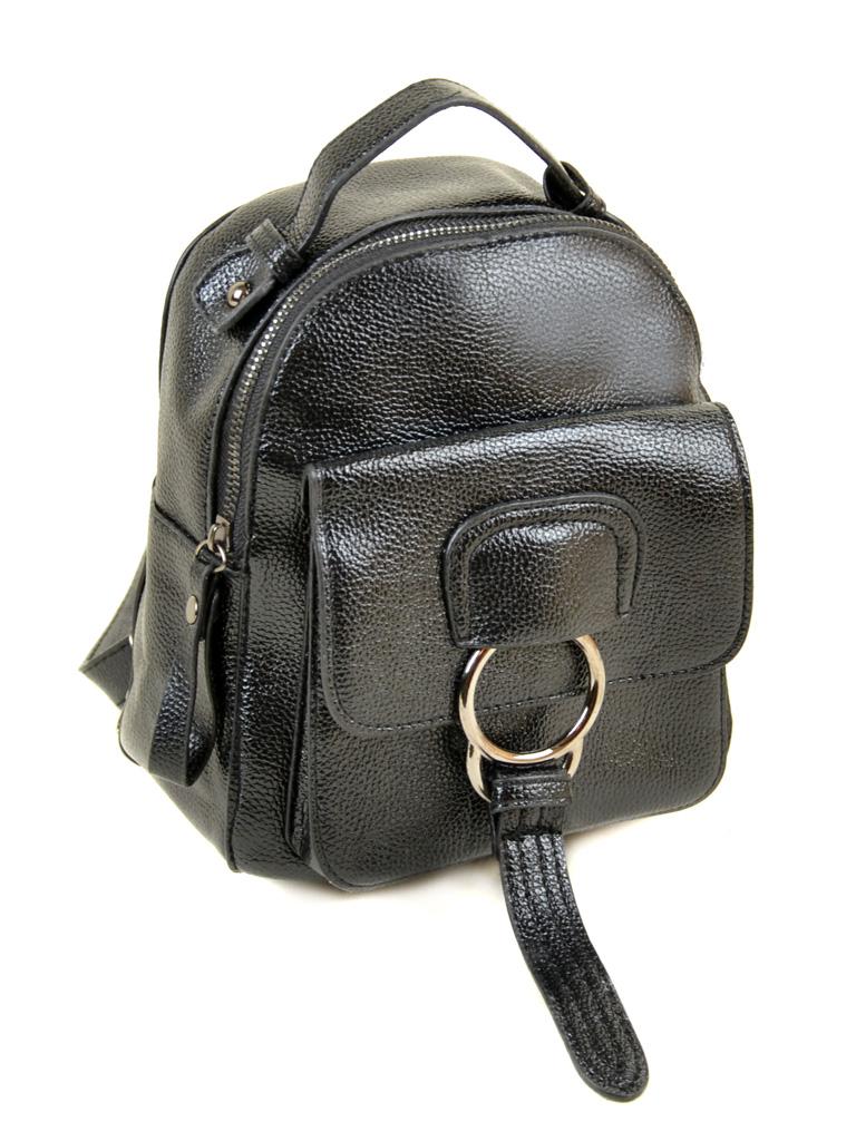 Сумка Женская Рюкзак иск-кожа ALEX RAI 2-05 1704-0 black