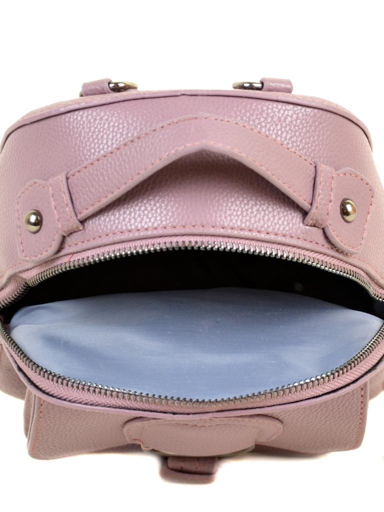 Сумка Женская Рюкзак иск-кожа ALEX RAI 2-05 1704-0 pink - фото 5