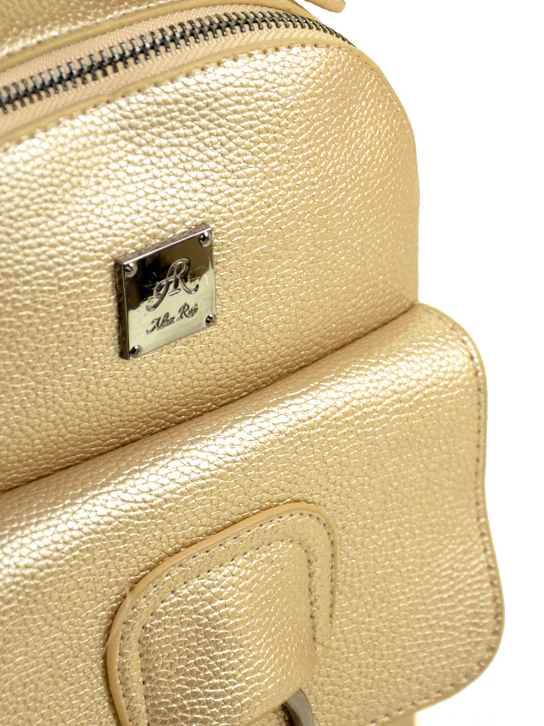 Сумка Женская Рюкзак иск-кожа ALEX RAI 2-05 1704-1 gold - фото 3