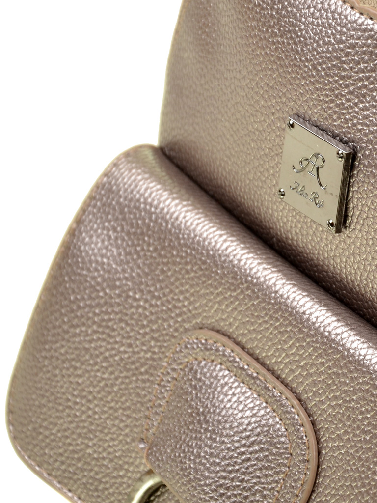 Сумка Женская Рюкзак иск-кожа ALEX RAI 2-05 1704-1 iron-grey