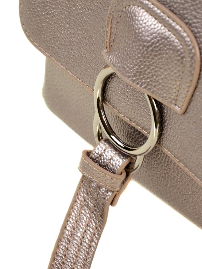 Сумка Женская Рюкзак иск-кожа ALEX RAI 2-05 1704-2 iron-grey
