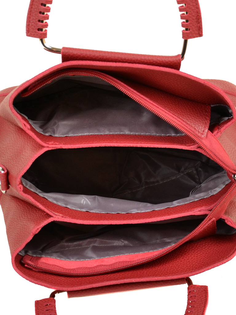 Сумка Женская Классическая иск-кожа ALEX RAI 7-01 08882-2 red