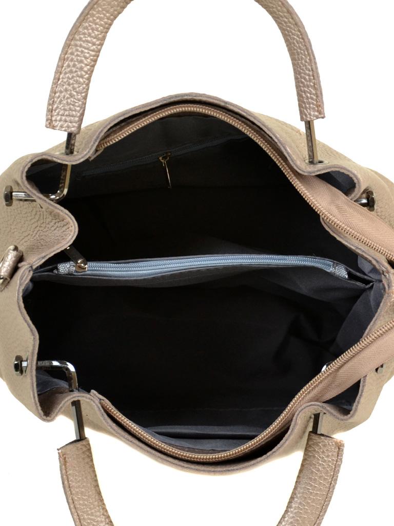 Сумка Женская Классическая иск-кожа ALEX RAI 7-01 1006 bronz