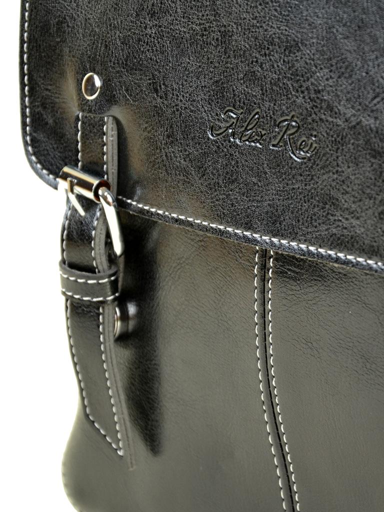 Сумка Женская Рюкзак иск-кожа ALEX RAI 7-01 12018 black