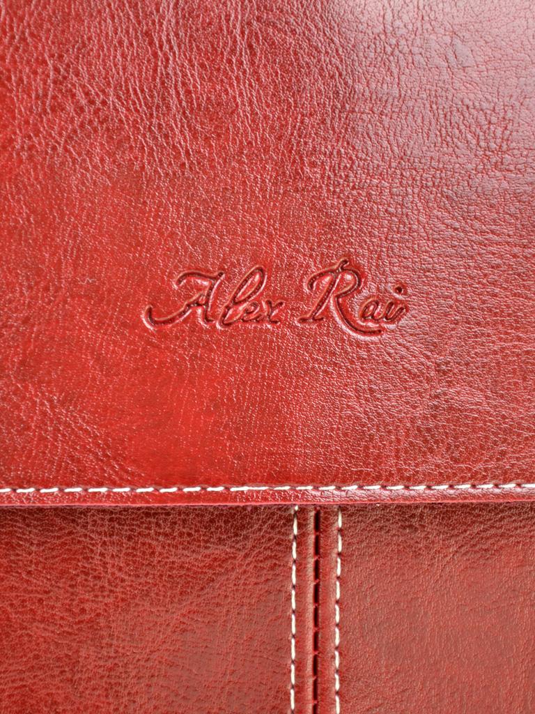 Сумка Женская Рюкзак иск-кожа ALEX RAI 7-01 12018 red