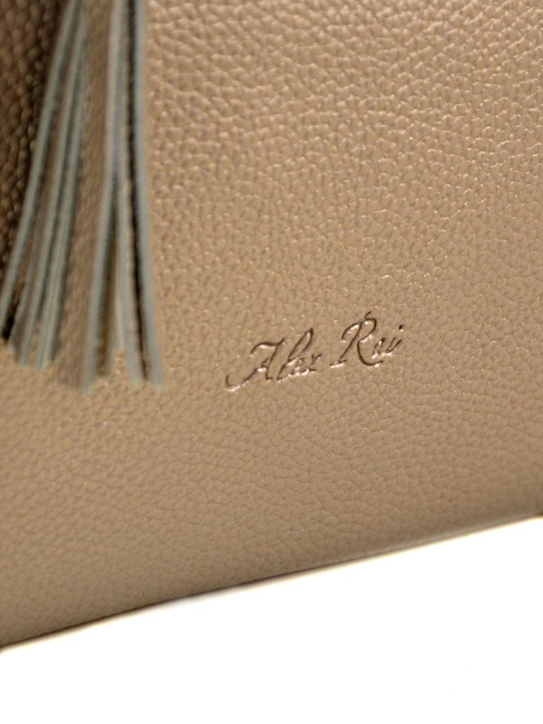 Сумка Женская Классическая иск-кожа ALEX RAI 7-01 1619 bronz