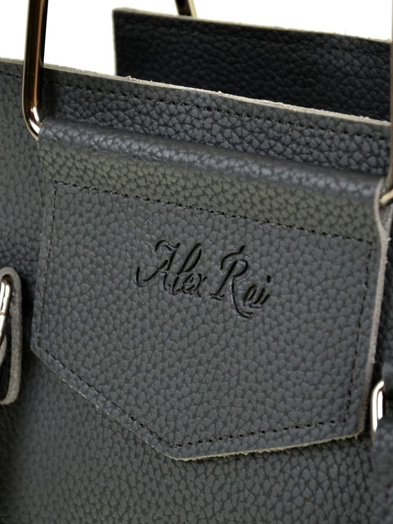 Сумка Женская Классическая иск-кожа ALEX RAI 7-01 2008 black