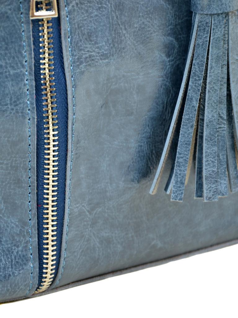 Сумка Женская Классическая иск-кожа ALEX RAI 7-01 3357 blue - фото 3