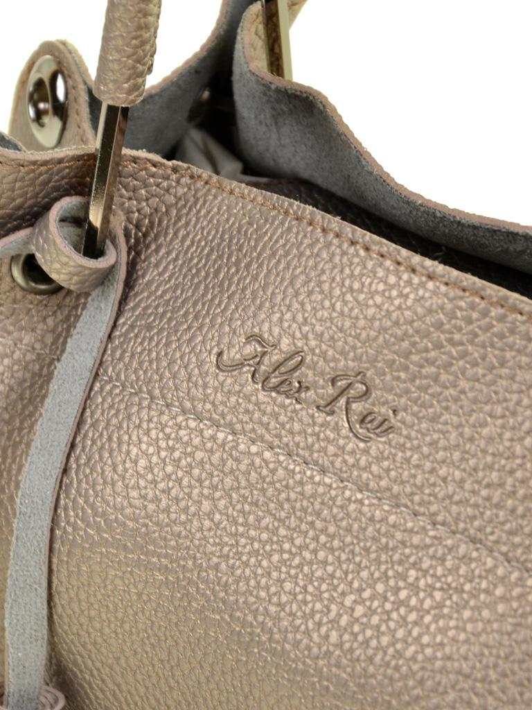 Сумка Женская Классическая иск-кожа ALEX RAI 7-01 5081 bronz