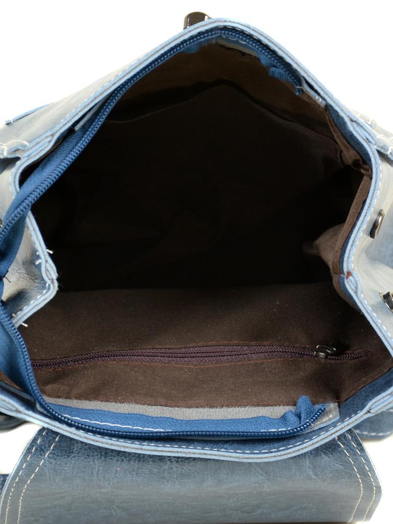 Сумка Женская Рюкзак иск-кожа ALEX RAI 7-01 53862 blue - фото 5