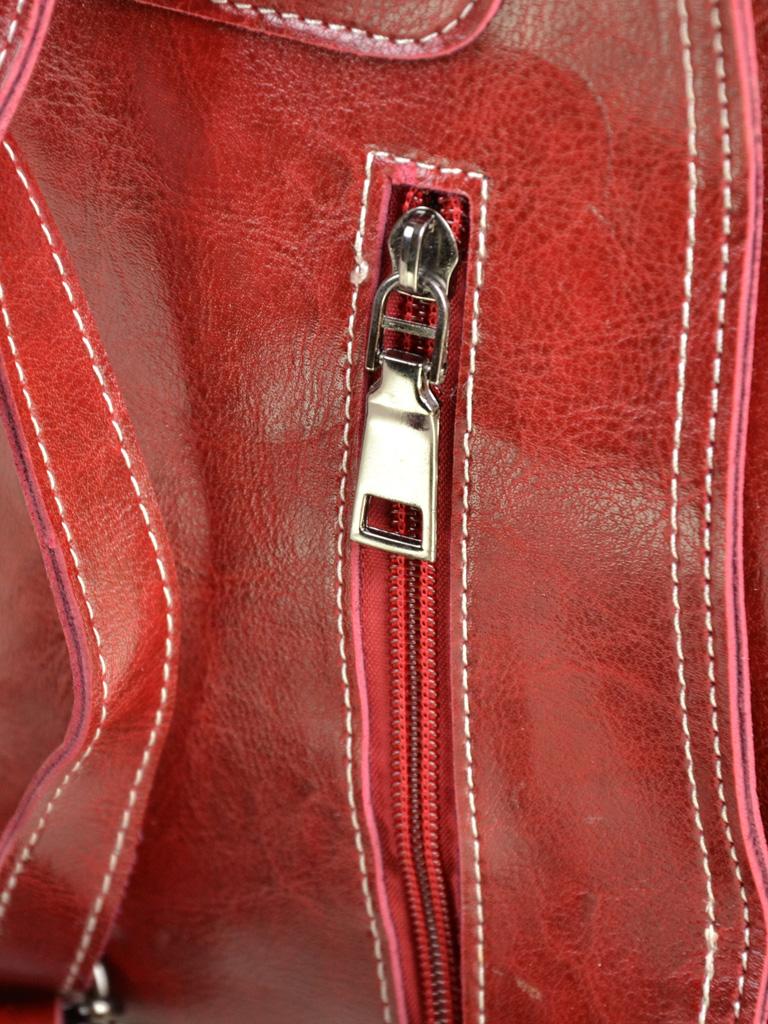 Сумка Женская Рюкзак иск-кожа ALEX RAI 7-01 53862 red