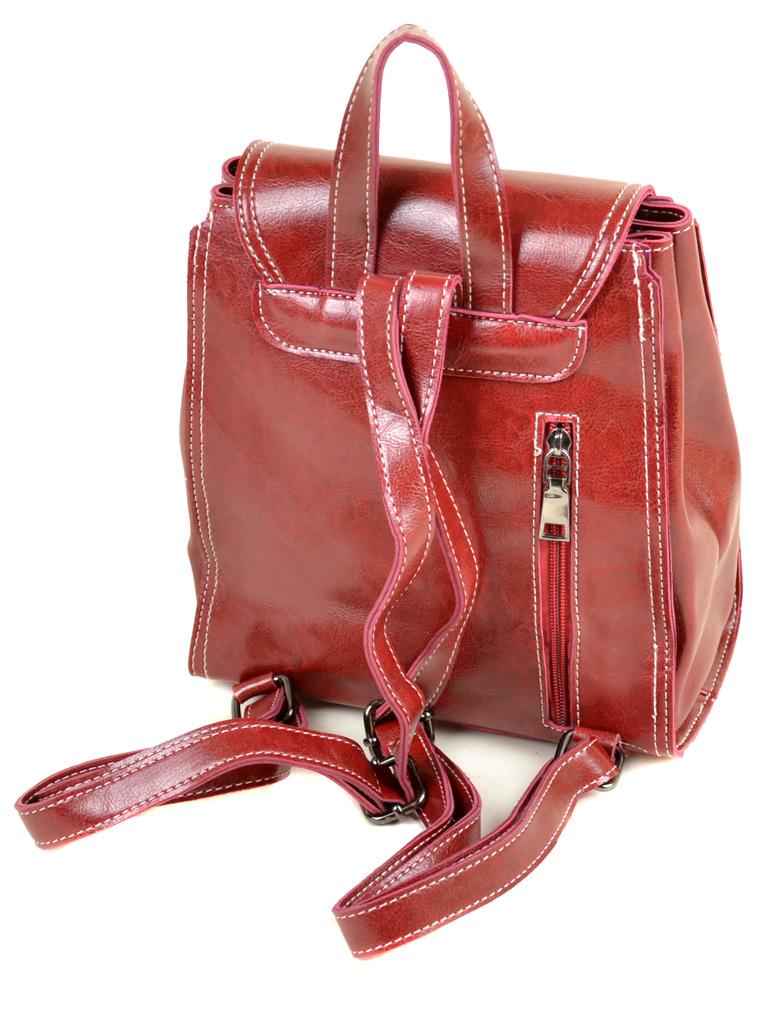 Сумка Женская Рюкзак иск-кожа ALEX RAI 7-01 53862 red - фото 3