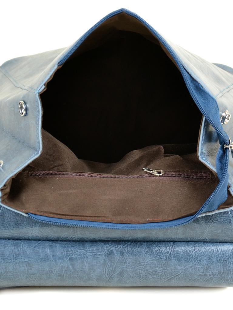 Сумка Женская Рюкзак иск-кожа ALEX RAI 7-01 53863 blue - фото 5