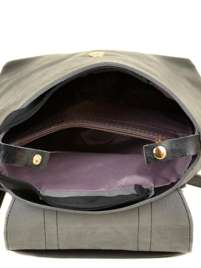 Сумка Женская Рюкзак иск-кожа ALEX RAI 7-01 9934 black