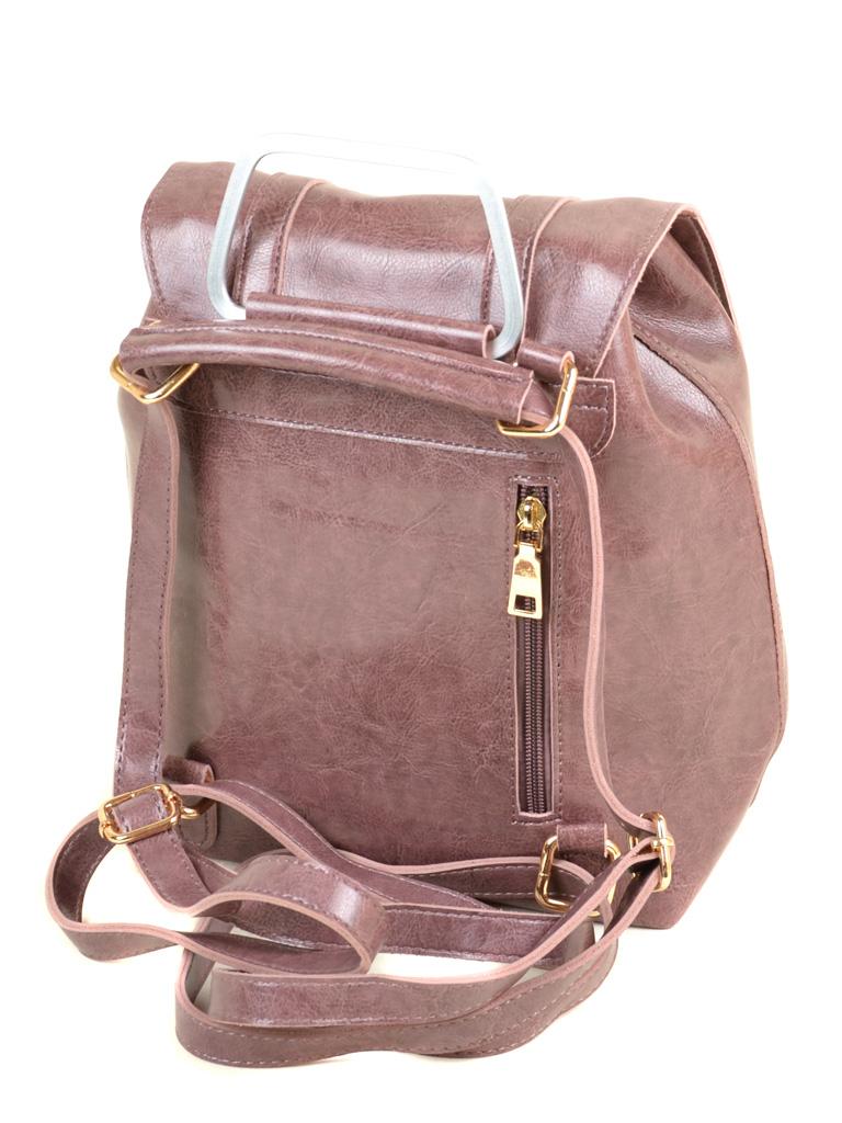 Сумка Женская Рюкзак иск-кожа ALEX RAI 7-01 9934 purple - фото 4