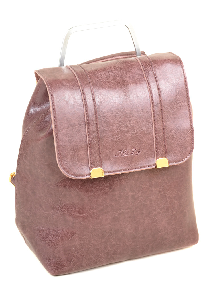 Сумка Женская Рюкзак иск-кожа ALEX RAI 7-01 9934 purple