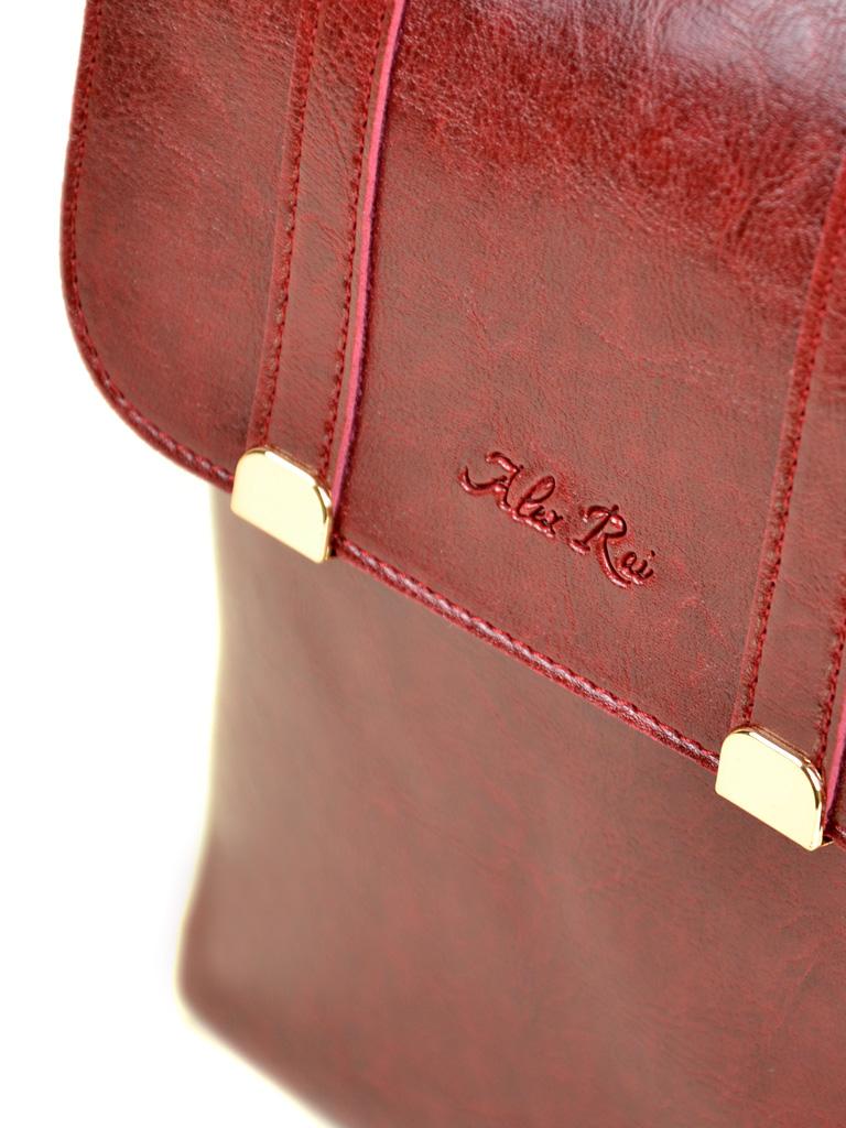 Сумка Женская Рюкзак иск-кожа ALEX RAI 7-01 9934 red