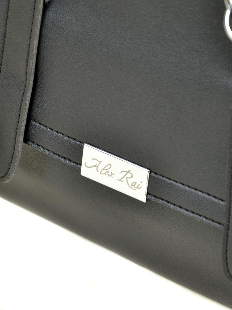 Сумка Женская Классическая иск-кожа ALEX RAI 7-01 9936-1 black