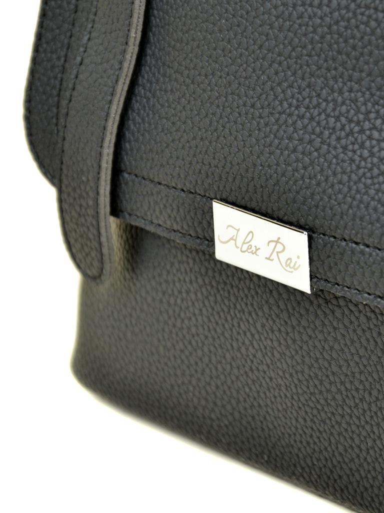 Сумка Женская Классическая иск-кожа ALEX RAI 7-01 9936-2 black