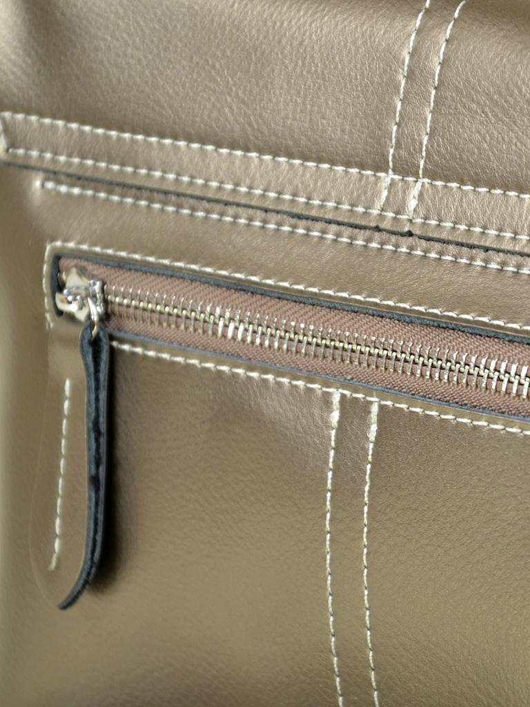 Сумка Женская Классическая кожа ALEX RAI 7-02 1531 tin-grey