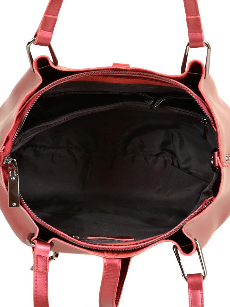 Сумка Женская Классическая кожа ALEX RAI 7-02 317 bright-red