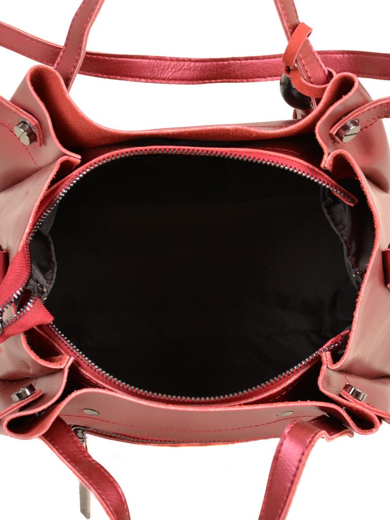 Сумка Женская Классическая кожа ALEX RAI 7-02 322 bright-red - фото 5
