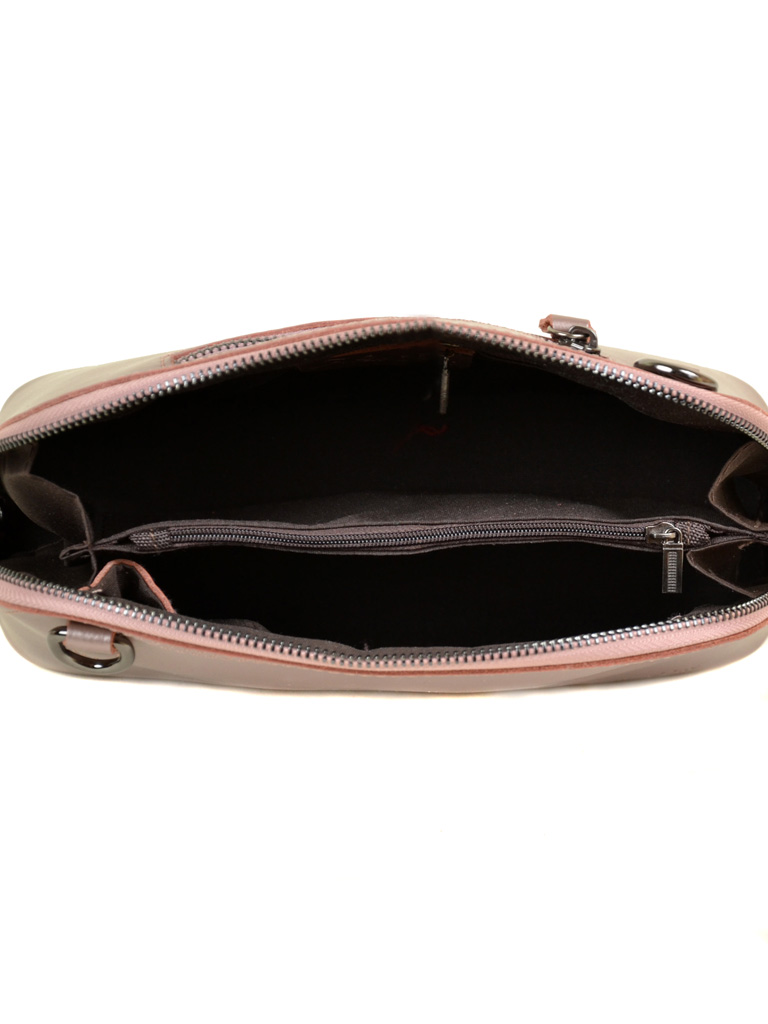 Сумка Женская Классическая кожа ALEX RAI 7-02 8530 pink-gold