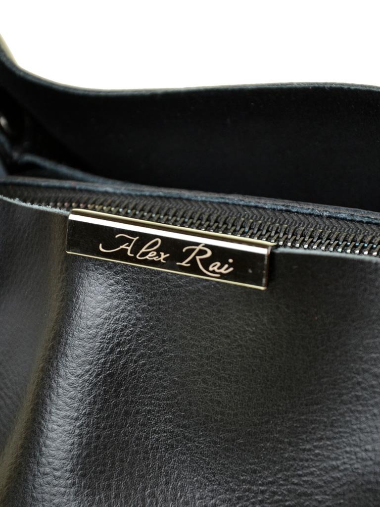 Сумка Женская Классическая кожа ALEX RAI 7-02 8622 black - фото 3