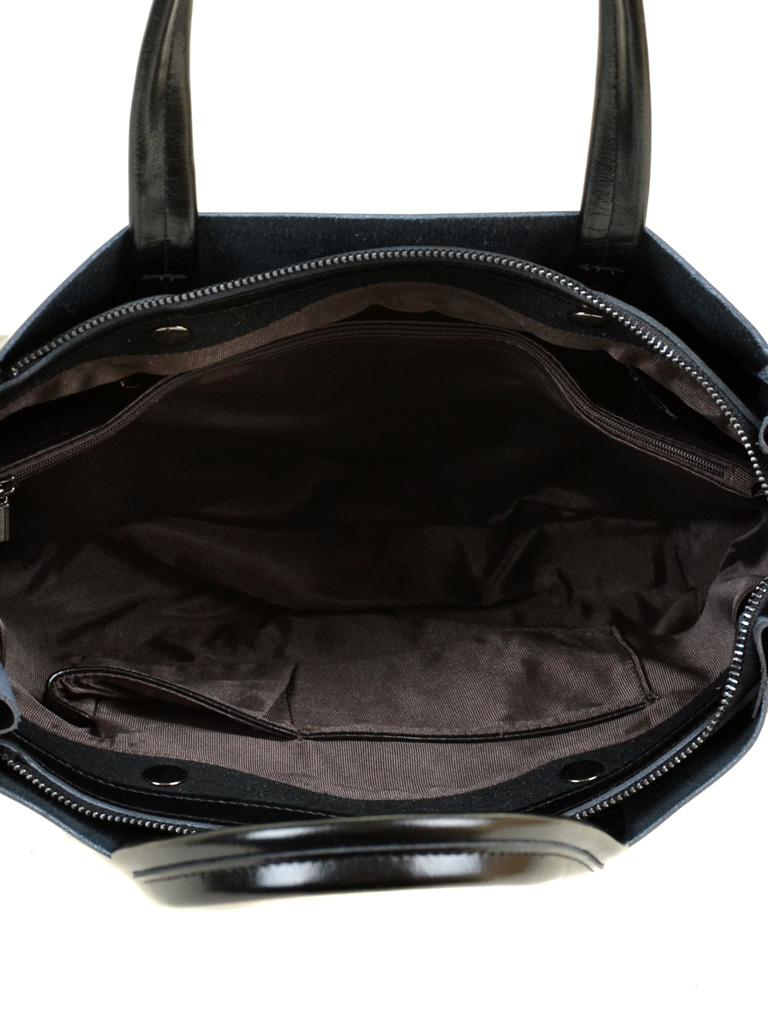 Сумка Женская Классическая кожа ALEX RAI 7-02 8650 black - фото 5