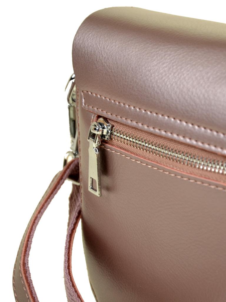 Сумка Женская Классическая кожа ALEX RAI 7-02 8708 pink-gold - фото 4