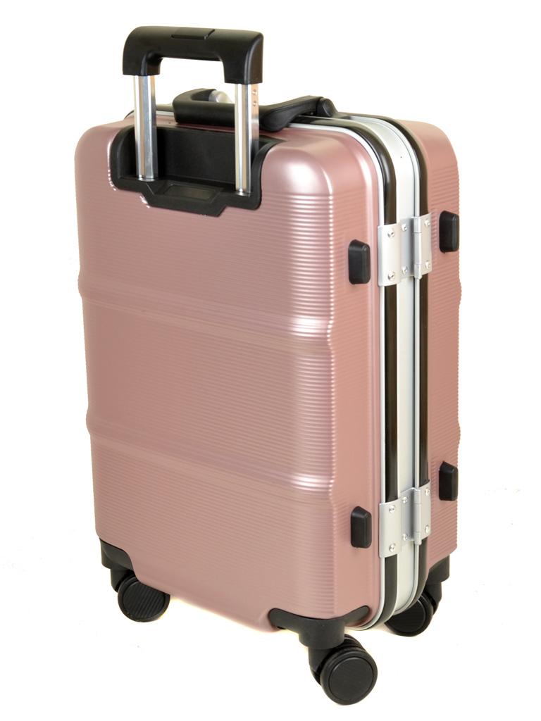 Дорожная Чемодан 1 Маленький пластик PODIUM 01 pink