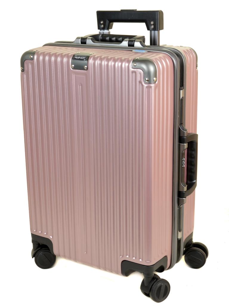 Дорожная Чемодан 1 Маленький пластик PODIUM 02 pink