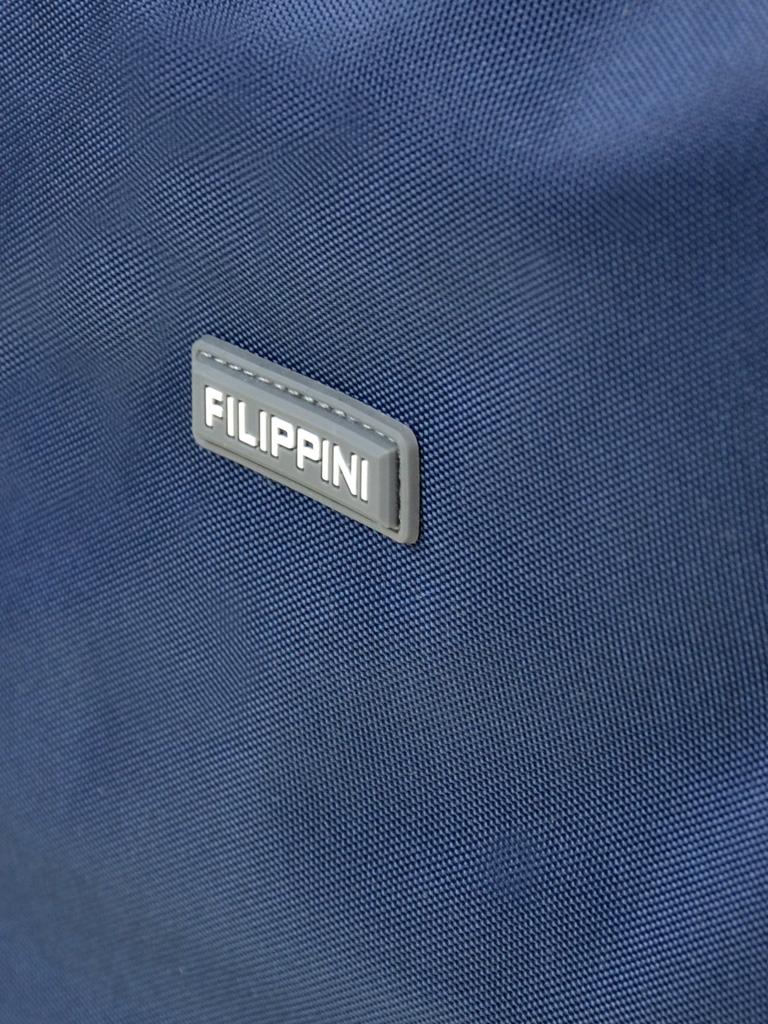 Дорожная Сумка на колесах нейлон FILIPPINI 2/1 601 blue - фото 3