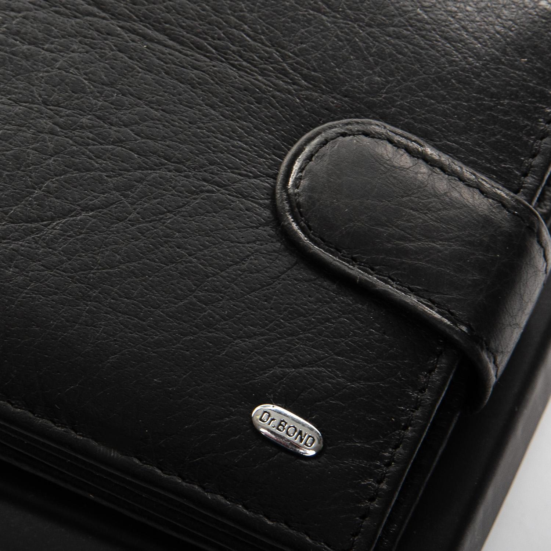 Кошелек Classic кожа DR. BOND M18055-1 black - фото 3