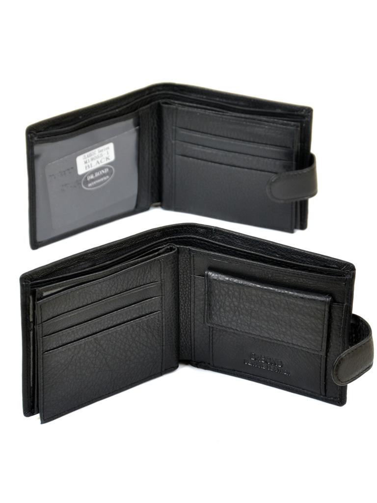 Кошелек Classik кожа DR. BOND M18055-1 black