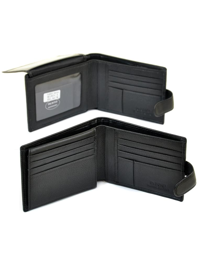 Кошелек Classik кожа DR. BOND M183-1 black